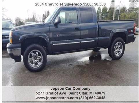 2004 Chevrolet Silverado 1500 for sale in Saint Clair, MI