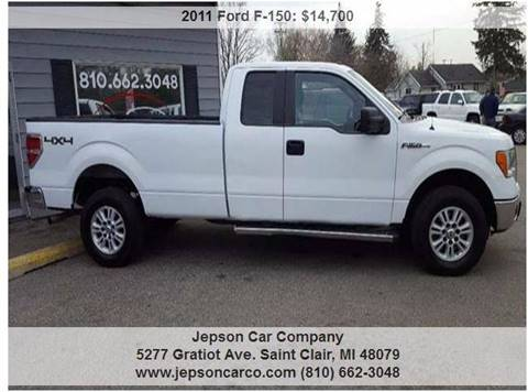 2011 Ford F-150 for sale in Saint Clair, MI
