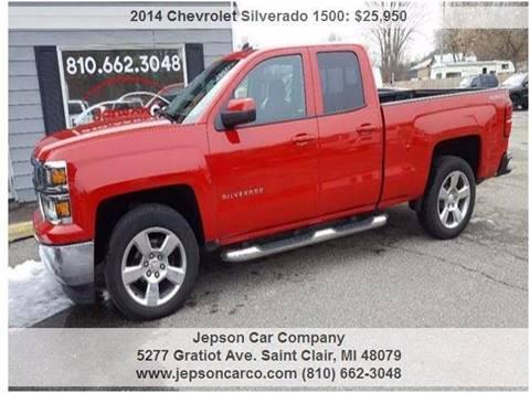 2014 Chevrolet Silverado 1500 for sale in Saint Clair, MI
