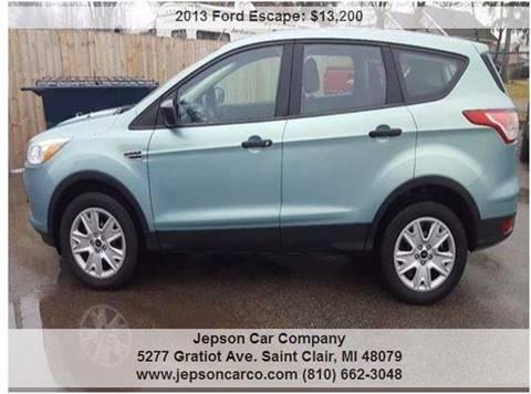 2013 Ford Escape for sale in Saint Clair, MI