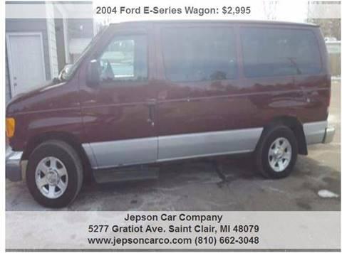 2004 Ford E-Series Wagon for sale in Saint Clair, MI