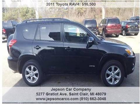 2011 Toyota RAV4 for sale in Saint Clair, MI