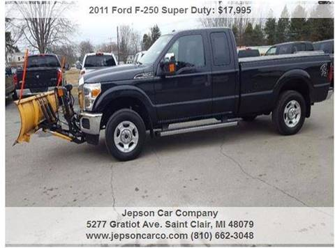 2011 Ford F-250 Super Duty for sale in Saint Clair, MI
