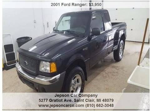 2001 Ford Ranger for sale in Saint Clair, MI