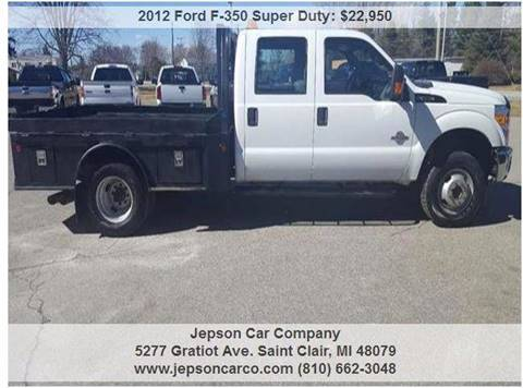 2012 Ford F-350 Super Duty for sale in Saint Clair, MI