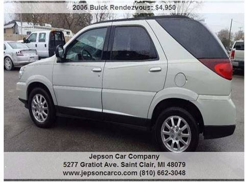 2006 Buick Rendezvous for sale in Saint Clair, MI