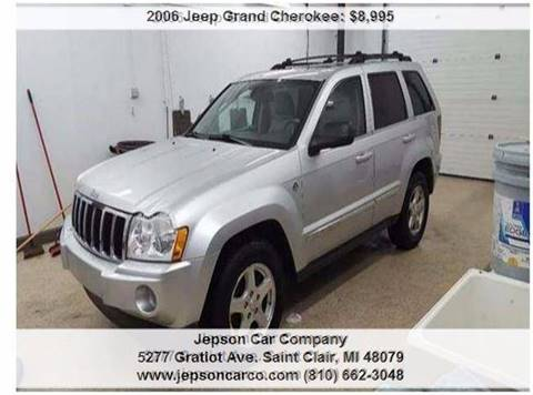 2006 Jeep Grand Cherokee for sale in Saint Clair, MI