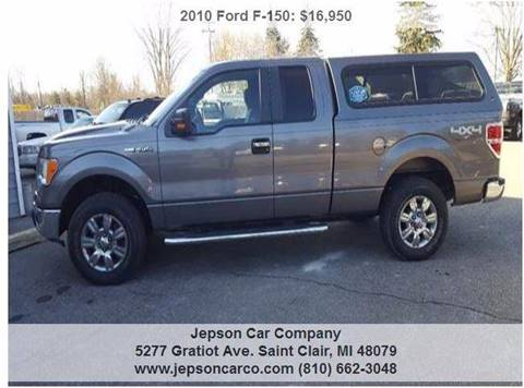2010 Ford F-150 for sale in Saint Clair, MI