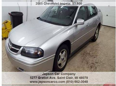 2005 Chevrolet Impala for sale in Saint Clair, MI