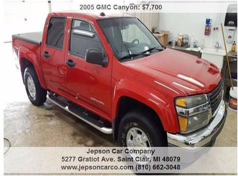 2005 GMC Canyon for sale in Saint Clair, MI
