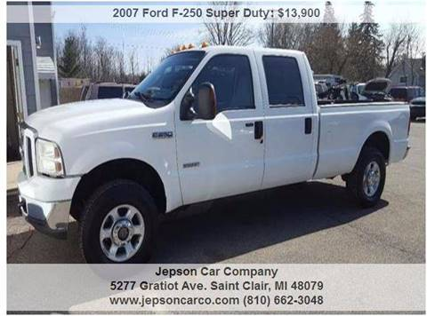 2007 Ford F-250 Super Duty for sale in Saint Clair, MI