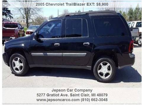 2005 Chevrolet TrailBlazer EXT for sale in Saint Clair, MI