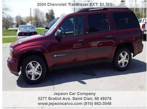 2004 Chevrolet TrailBlazer EXT for sale in Saint Clair, MI