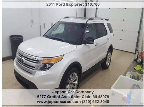 2011 Ford Explorer for sale in Saint Clair, MI