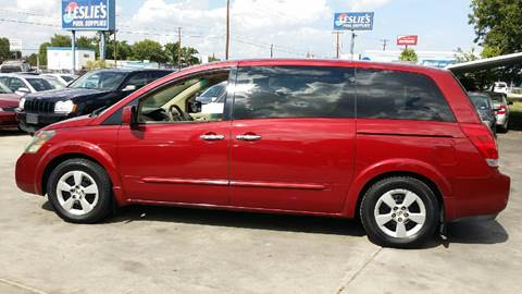 2007 Nissan Quest for sale at Dubik Motor Company in San Antonio TX