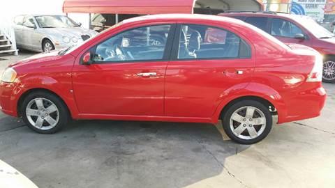 2009 Chevrolet Aveo for sale at Dubik Motor Company in San Antonio TX