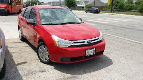 2008 Ford Focus for sale at Dubik Motor Company in San Antonio TX