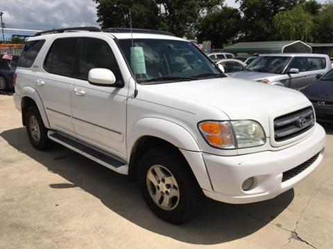 2001 Toyota Sequoia for sale at Dubik Motor Company in San Antonio TX