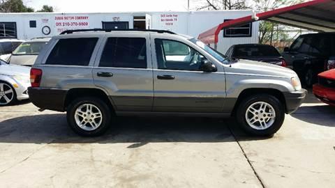 2002 Jeep Grand Cherokee for sale at Dubik Motor Company in San Antonio TX