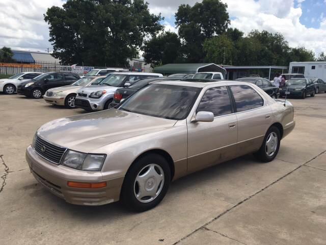 1997 Lexus LS 400 for sale at Dubik Motor Company in San Antonio TX