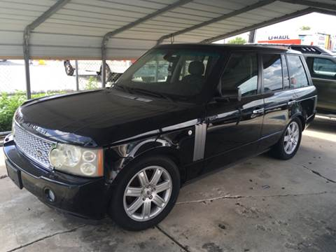 2007 Land Rover Range Rover for sale at Dubik Motor Company in San Antonio TX