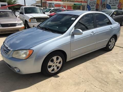 2006 Kia Spectra for sale at Dubik Motor Company in San Antonio TX