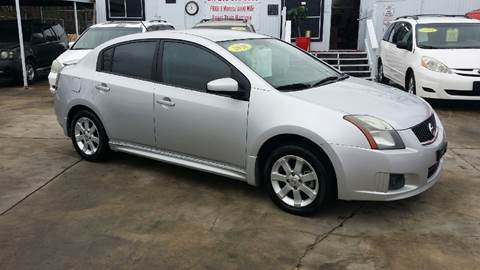 2010 Nissan Sentra for sale at Dubik Motor Company in San Antonio TX