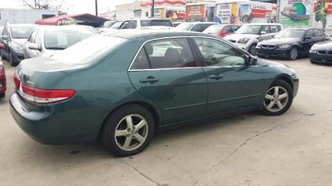 2003 Honda Accord for sale at Dubik Motor Company in San Antonio TX