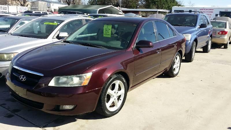 2006 Hyundai Sonata for sale at Dubik Motor Company in San Antonio TX