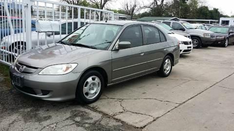 2005 Honda Civic for sale at Dubik Motor Company in San Antonio TX