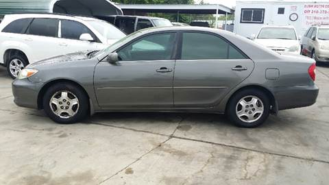 2002 Toyota Camry for sale at Dubik Motor Company in San Antonio TX