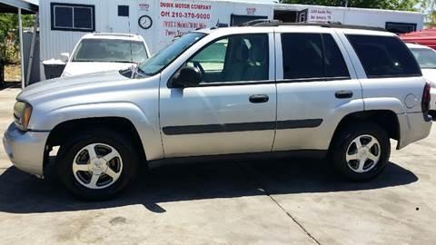 2005 Chevrolet TrailBlazer for sale at Dubik Motor Company in San Antonio TX