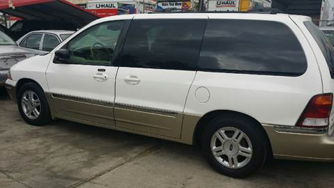 2001 Ford Windstar for sale at Dubik Motor Company in San Antonio TX