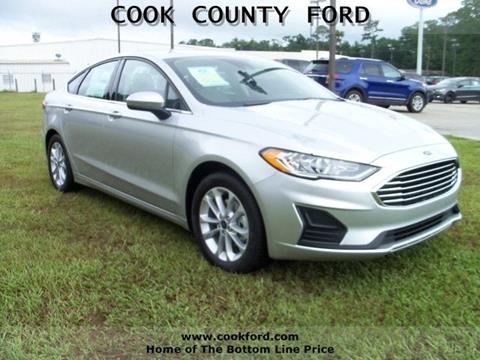2019 Ford Fusion for sale in Adel, GA