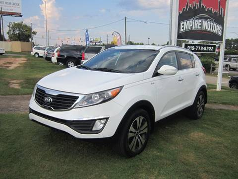 2013 Kia Sportage for sale in Raleigh, NC