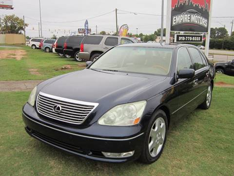 2004 Lexus LS 430 for sale in Raleigh, NC