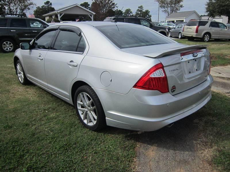 2010 ford fusion sel 4dr sedan in raleigh nc - empire motors