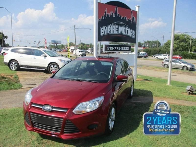 2014 Ford Focus Se 4dr Hatchback In Raleigh Nc Empire Motors
