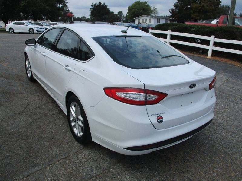 2015 Ford Fusion SE 4dr Sedan - Raleigh NC