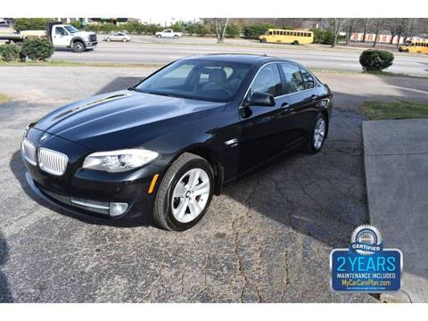 2012 BMW 5 Series 528i xDrive for sale at Empire Motors in Raleigh NC