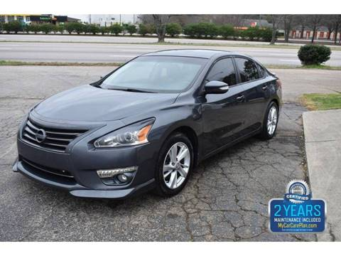 2013 Nissan Altima 2.5 SL for sale at Empire Motors in Raleigh NC