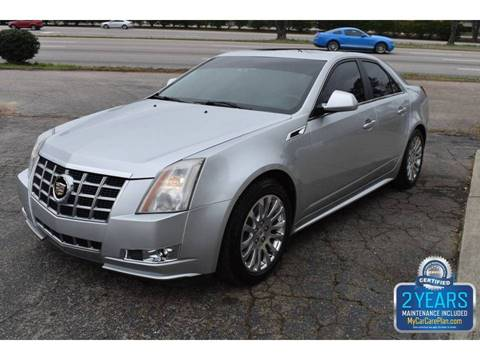 2013 Cadillac CTS 3.6L Premium for sale at Empire Motors in Raleigh NC