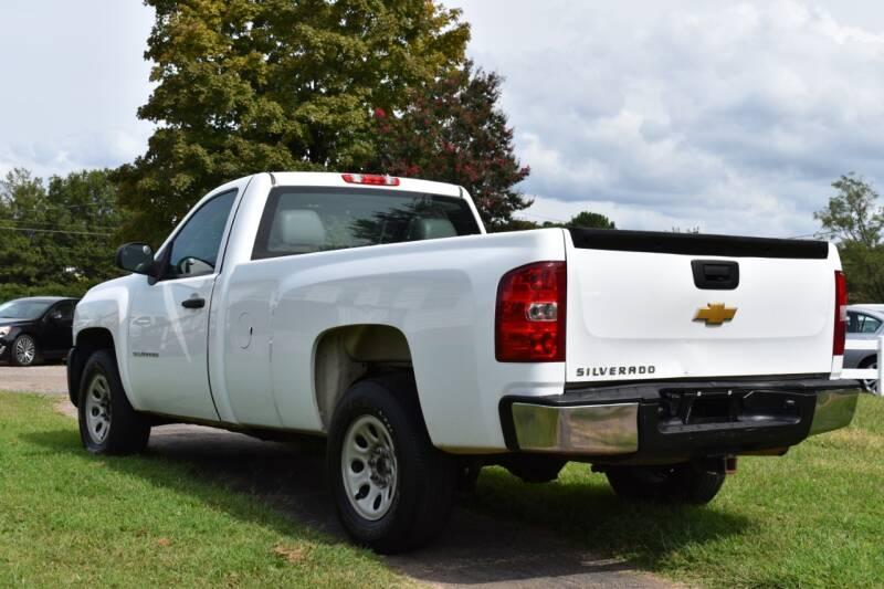 2013 Chevrolet Silverado 1500 4x2 Work Truck 2dr Regular Cab 6.5 ft. SB - Raleigh NC