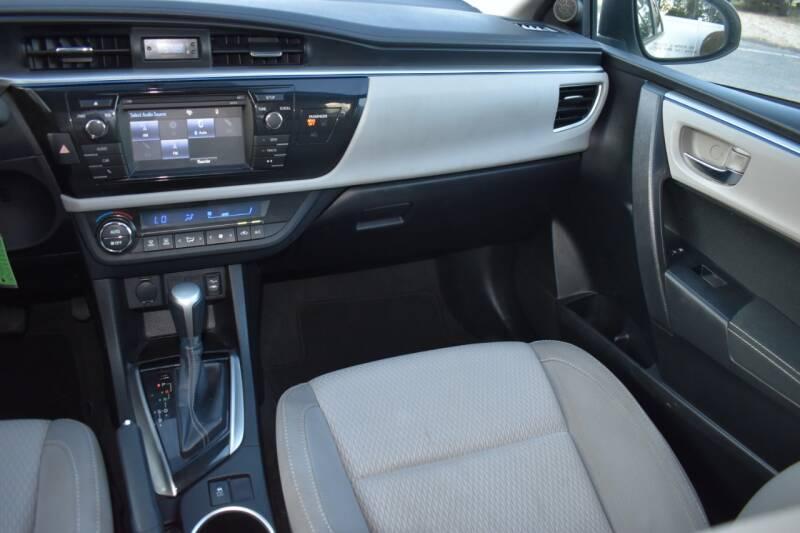 2015 Toyota Corolla LE 4dr Sedan - Raleigh NC