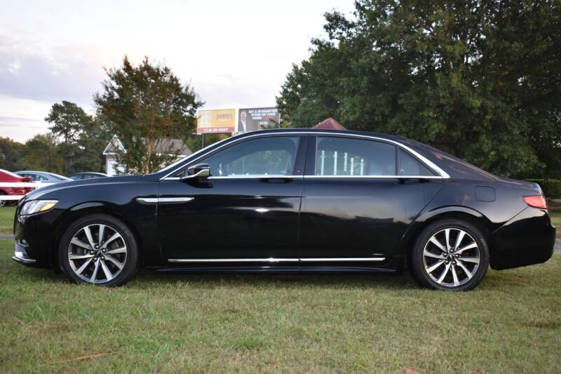 2017 Lincoln Continental Livery 4dr Sedan - Raleigh NC