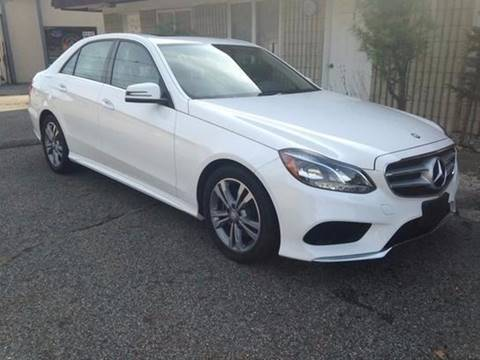 2015 Mercedes-Benz E-Class for sale at George Strus Motors Inc. in Newfoundland NJ