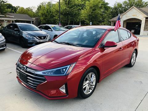 2019 Hyundai Elantra for sale in Mckinney, TX