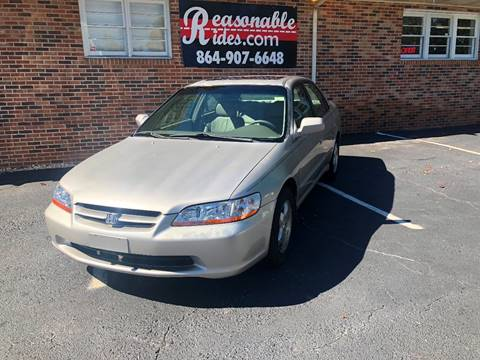 1999 Honda Accord for sale in Travelers Rest, SC