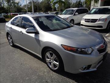 2012 Acura TSX for sale in Margate, FL