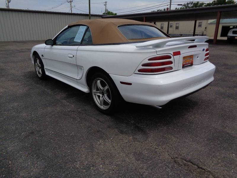 1995 Ford Mustang for sale at Mark McCall Auto Sales LLC in Scottsbluff NE